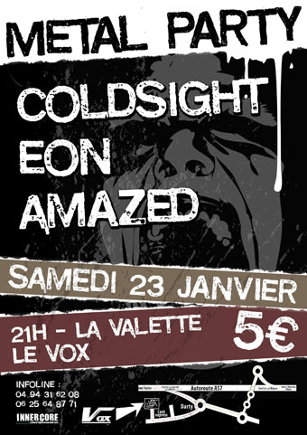 Le vox concert toulon - metal eon amazed coldsight (1)